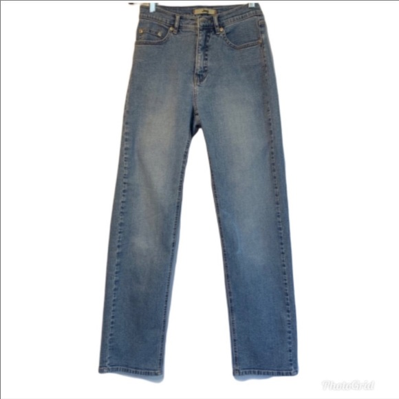 "Jag Jeans Denim - Jag Blue Denim Jeans 27""x40"" Zipper Closure"